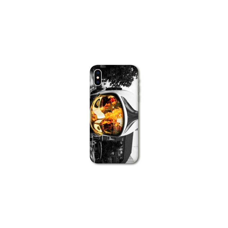 Coque Iphone XS Max pompier police