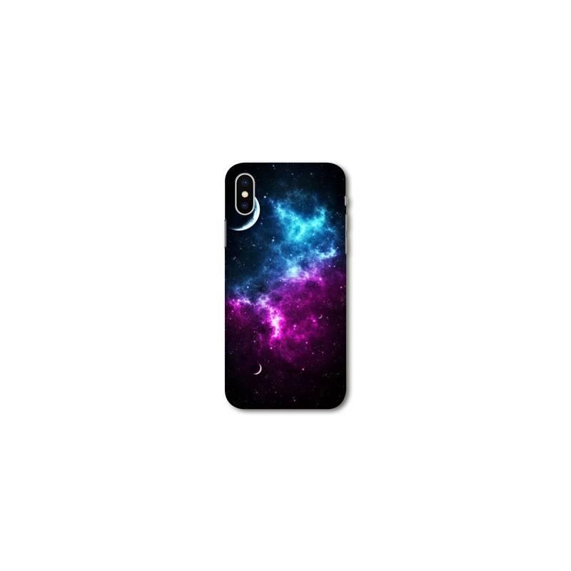 Coque Iphone XS Max Espace Univers Galaxie