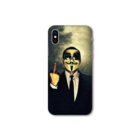 Coque Iphone XS Max Anonymous