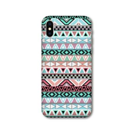 Coque Iphone XS Max motifs Aztec azteque