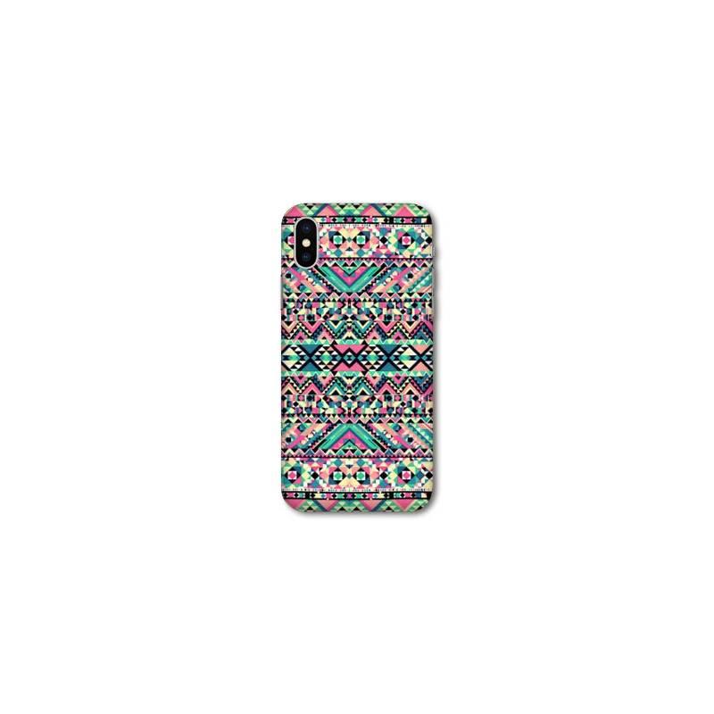 coque pour iphone xs max motifs aztec azteque