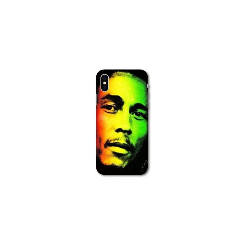 Coque pour iphone XS Max Bob Marley