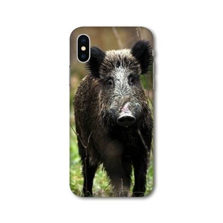 Coque Iphone XS Max chasse peche