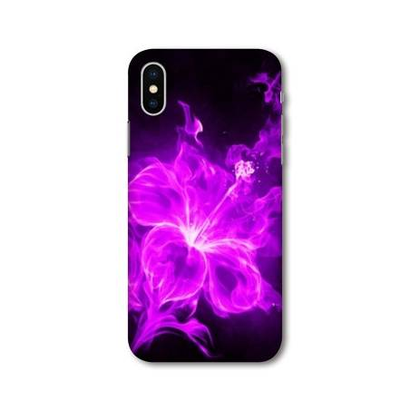 Coque Iphone XS Max fleurs