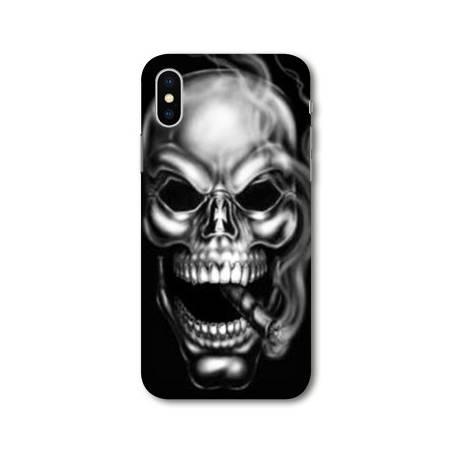 Coque Iphone XS Max tete de mort