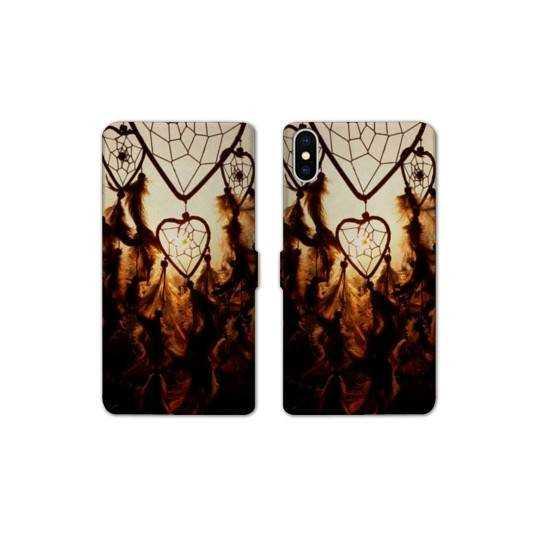 RV Housse cuir portefeuille Iphone XS Max Zen
