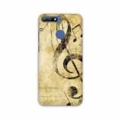 Coque Huawei Y6 (2018) / Honor 7A Musique