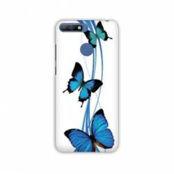 Coque Huawei Y6 (2018) / Honor 7A papillons