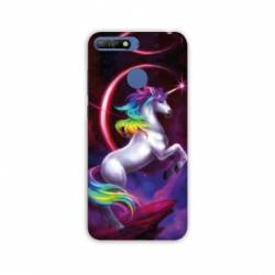 Coque Huawei Y6 (2018) / Honor 7A Licorne