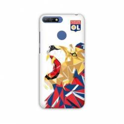Coque Huawei Y6 (2018) / Honor 7A License Olympique Lyonnais OL - lion color