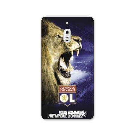 Coque Nokia 2.1 (2018) Licence Olympique Lyonnais - Rage de vaincre
