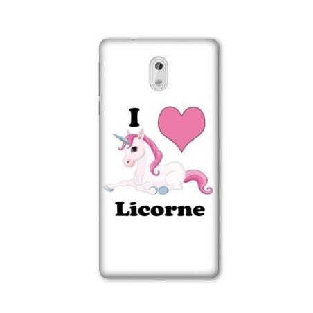 Coque Nokia 3.1 (2018) Licorne