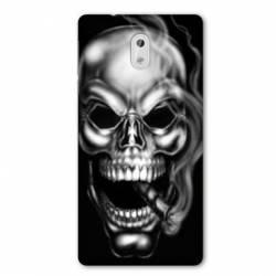 Coque Nokia 3.1 (2018) tete de mort