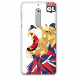 Coque Nokia 5.1 (2018) License Olympique Lyonnais OL - lion color