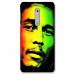 Coque Nokia 5.1 (2018) Bob Marley