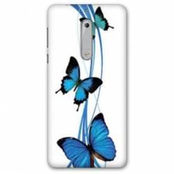Coque Nokia 5.1 (2018) papillons