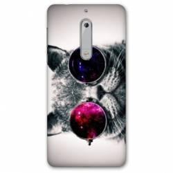 Coque Nokia 5.1 (2018) animaux 2