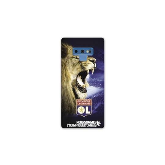 Coque Samsung Galaxy Note 9 Licence Olympique Lyonnais - Rage de vaincre