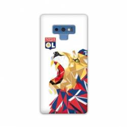 Coque Samsung Galaxy Note 9 License Olympique Lyonnais OL - lion color