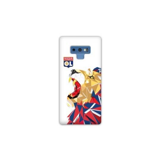 Coque Samsung Galaxy Note 9 License Olympique Lyonnais OL - lion color