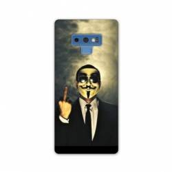 Coque Samsung Galaxy Note 9 Anonymous