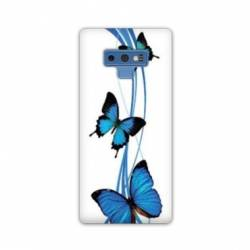 Coque Samsung Galaxy Note 9 papillons
