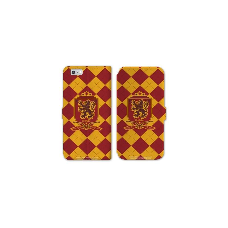 Housse cuir portefeuille Huawei Y5 (2018) WB License harry potter ecole