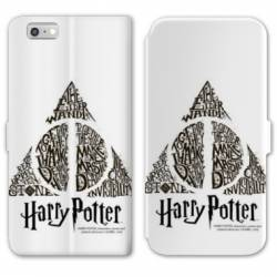 Housse cuir portefeuille Huawei Y5 (2018) WB License harry potter pattern