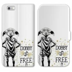 Housse cuir portefeuille Huawei Y5 (2018) WB License harry potter dobby