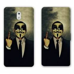 Housse cuir portefeuille Nokia 2.1 (2018) Anonymous