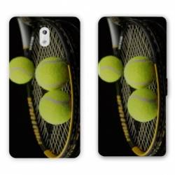 Housse cuir portefeuille Nokia 2.1 (2018) Tennis