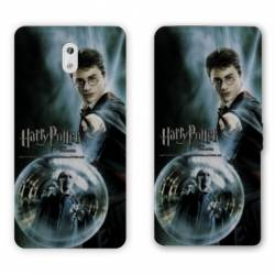 Housse cuir portefeuille Nokia 2.1 (2018) WB License harry potter C