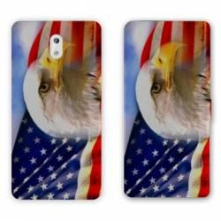 Housse cuir portefeuille Nokia 3.1 (2018) Amerique