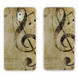 Housse cuir portefeuille Nokia 3.1 (2018) Musique