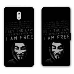 Housse cuir portefeuille Nokia 3.1 (2018) Anonymous