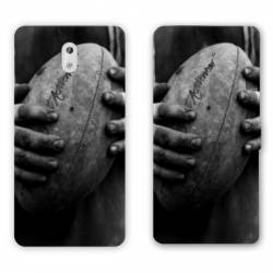 Housse cuir portefeuille Nokia 3.1 (2018) Rugby