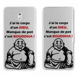 Housse cuir portefeuille Nokia 3.1 (2018) Humour