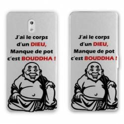 Housse cuir portefeuille Nokia 3.1 (2018) Humour