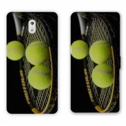 Housse cuir portefeuille Nokia 3.1 (2018) Tennis