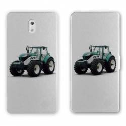 Housse cuir portefeuille Nokia 3.1 (2018) Agriculture