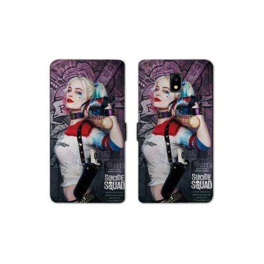 Housse cuir portefeuille Nokia 3.1 (2018) Harley Quinn