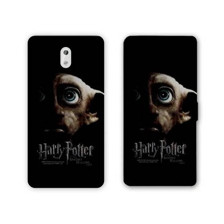 Housse cuir portefeuille Nokia 3.1 (2018) WB License harry potter A