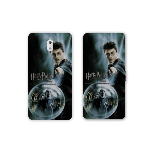 Housse cuir portefeuille Nokia 3.1 (2018) WB License harry potter C