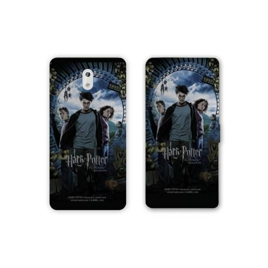 Housse cuir portefeuille Nokia 3.1 (2018) WB License harry potter D