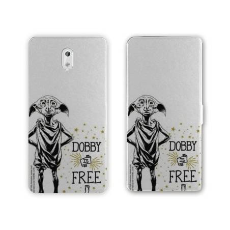Housse cuir portefeuille Nokia 3.1 (2018) WB License harry potter dobby
