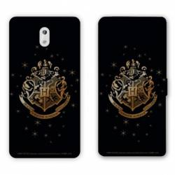 Housse cuir portefeuille Nokia 3.1 (2018) WB License harry potter pattern