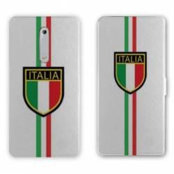 Housse cuir portefeuille Nokia 5.1 (2018) Italie