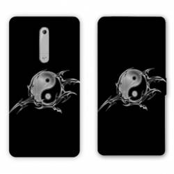 Housse cuir portefeuille Nokia 5.1 (2018) Zen
