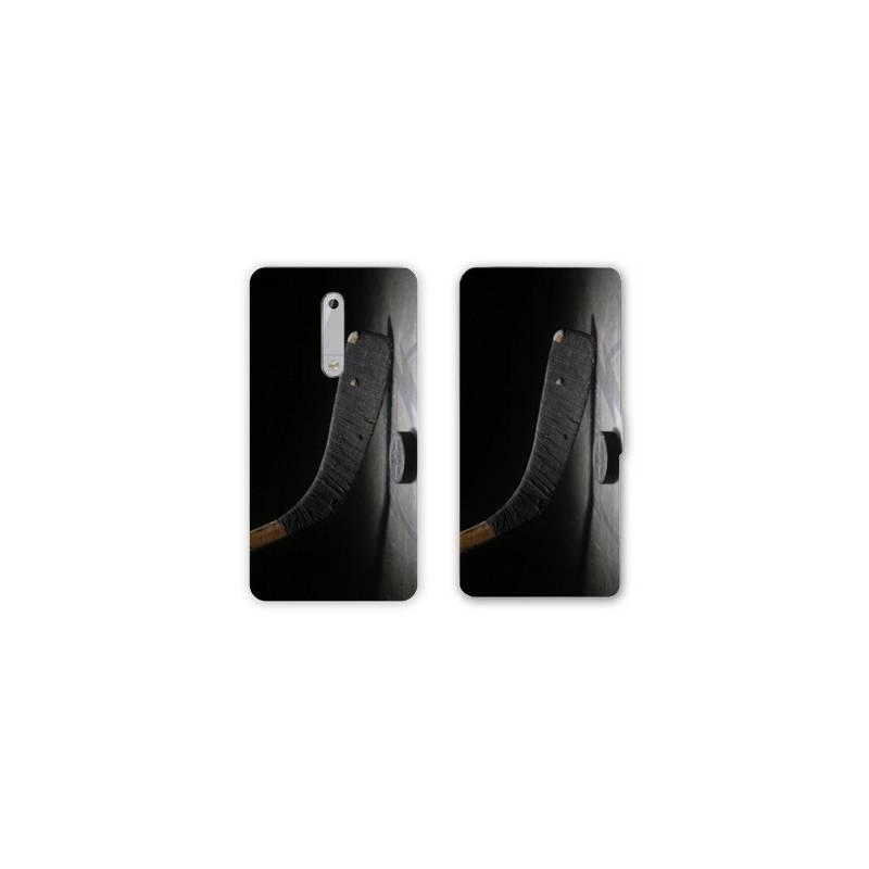 Housse cuir portefeuille Nokia 5.1 (2018) Sport Glisse