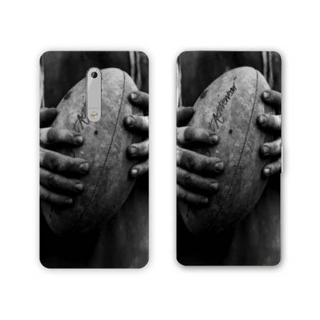 Housse cuir portefeuille Nokia 5.1 (2018) Rugby